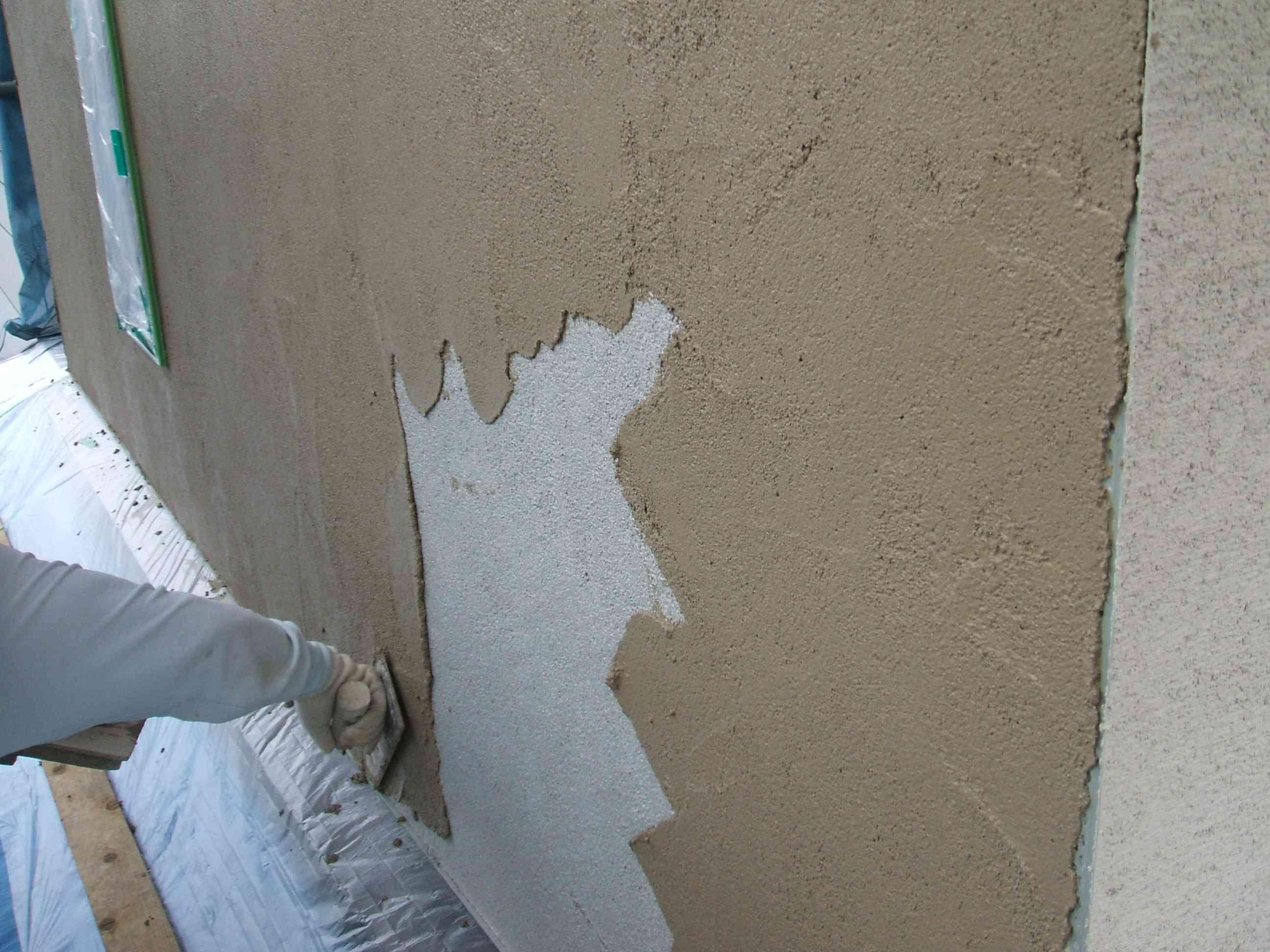 桜通りの家:9月の工事